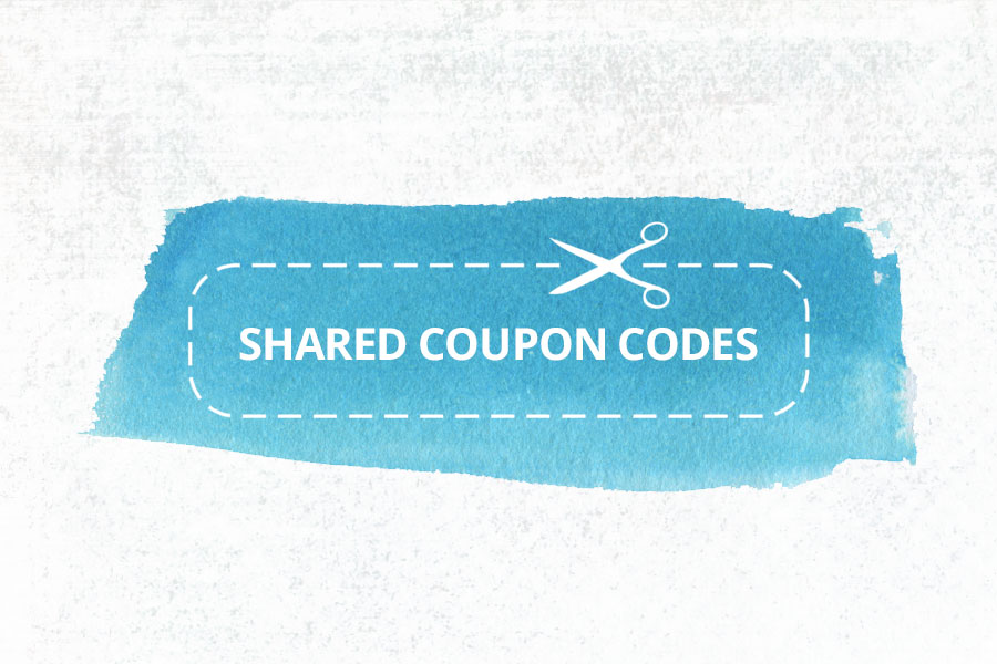 Shared Coupon Codes