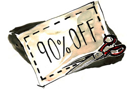 Coupons are a great way to encourage new customers to visit your store