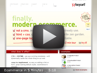 Ecommerce In 5 Minutes