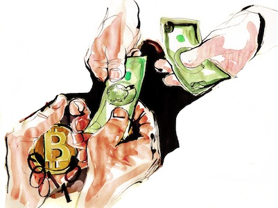 Your customers want to give you bitcoin