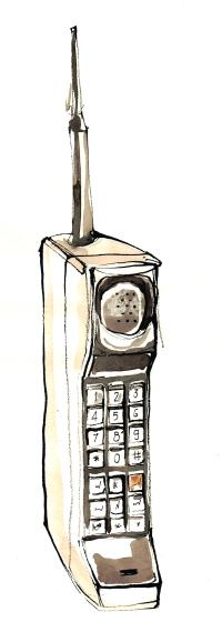 Old school cell phone